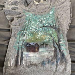 Anthropologie Sleeping on Snow  sweater